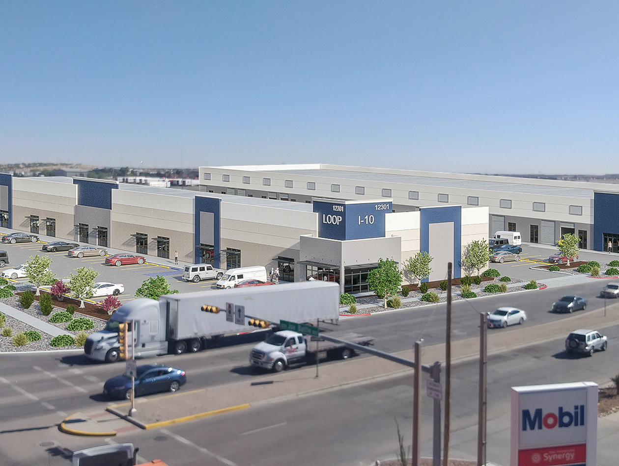 Loop 375 and I-10 Commercial Warehouses