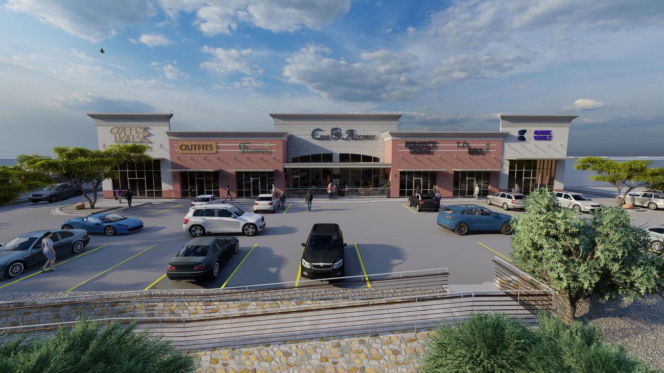 Lee Trevino Shopping Center