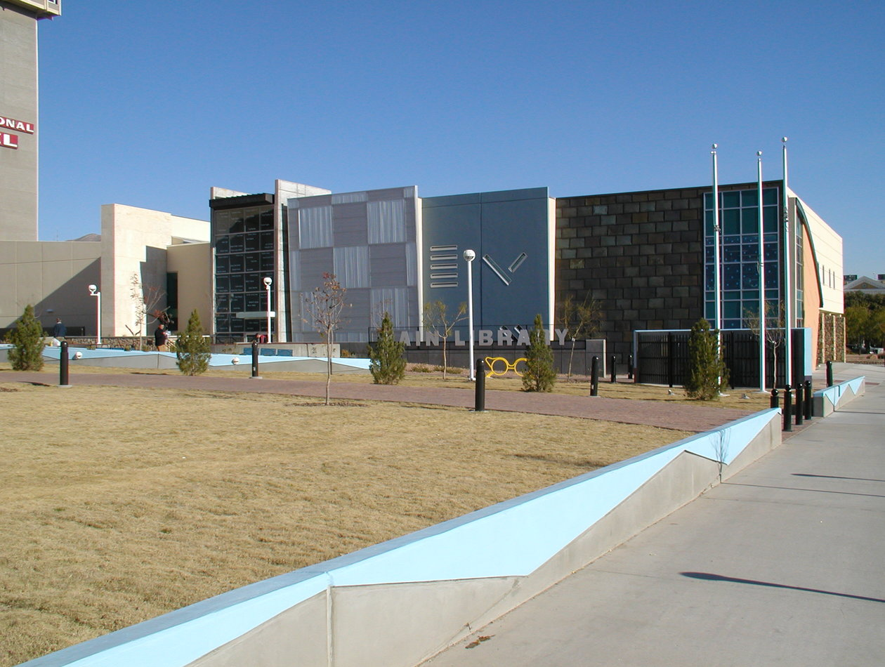 El Paso Public Library - Cleveland Square Redevelopment