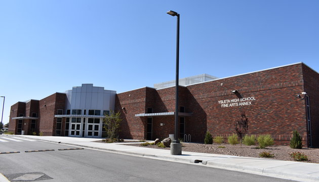 New Fine Arts Building Addition at Ysleta High School